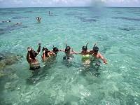 Snorkeling à Rio do Fogo dans le Nordeste du Brésil