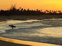 La plage de Tourinhos à São Miguel do Gostoso