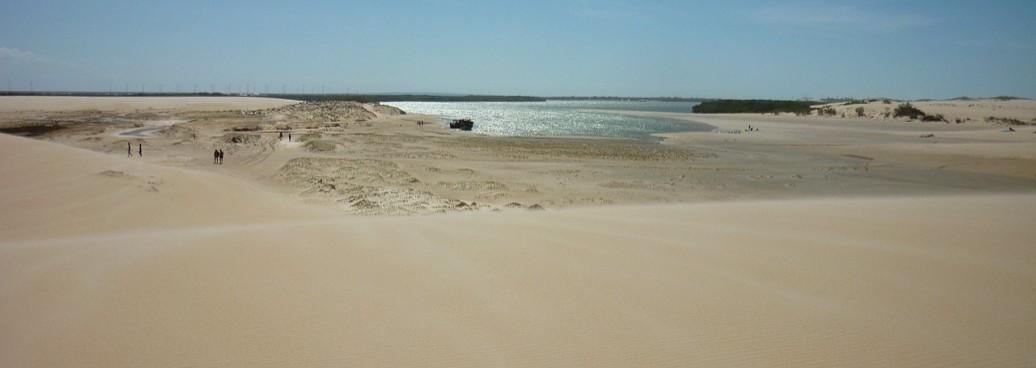 Dans les dunes et lagunes de Galinhos et Galos