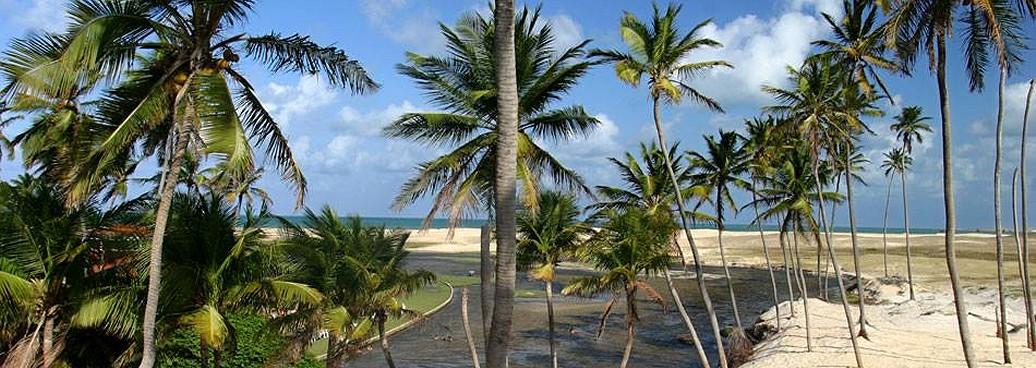 Barra do Punau, au Nord de Natal, Brésil RN