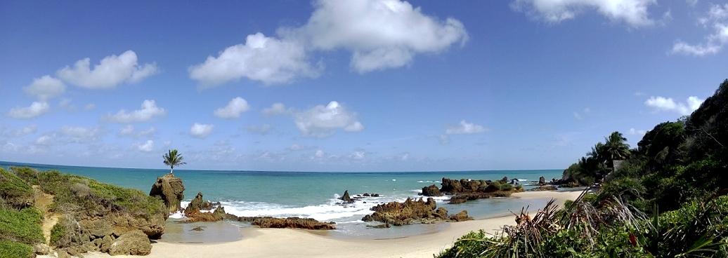 La plage naturiste de Tambaba dans l'Etat du Paraiba