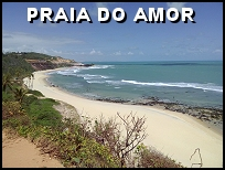 Praia do Amor in Pipa