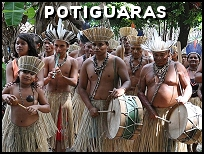 Fête traditionnelle des indiens Potiguaras