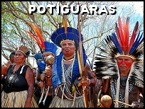 Costumes traditionnels des indiens Potiguaras